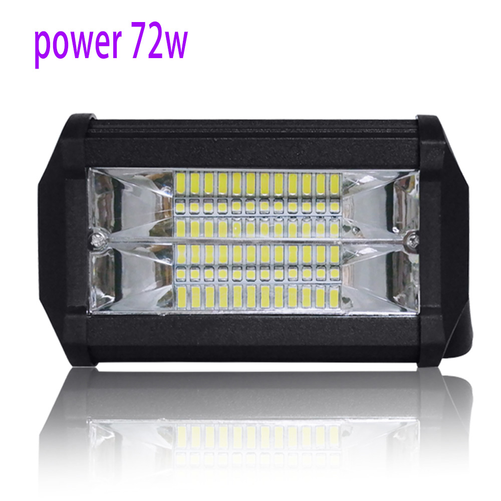 Car Led work Light 72W Lens High Power Lighting Inspection Lamp 6000K Applicable Big Truck Excavator Road Roller Bulldozer Car Led work Light 72W Lens High Power Lighting Inspection Lamp 6000K Applicable Big Truck Excavator Road Roller Bulldozer