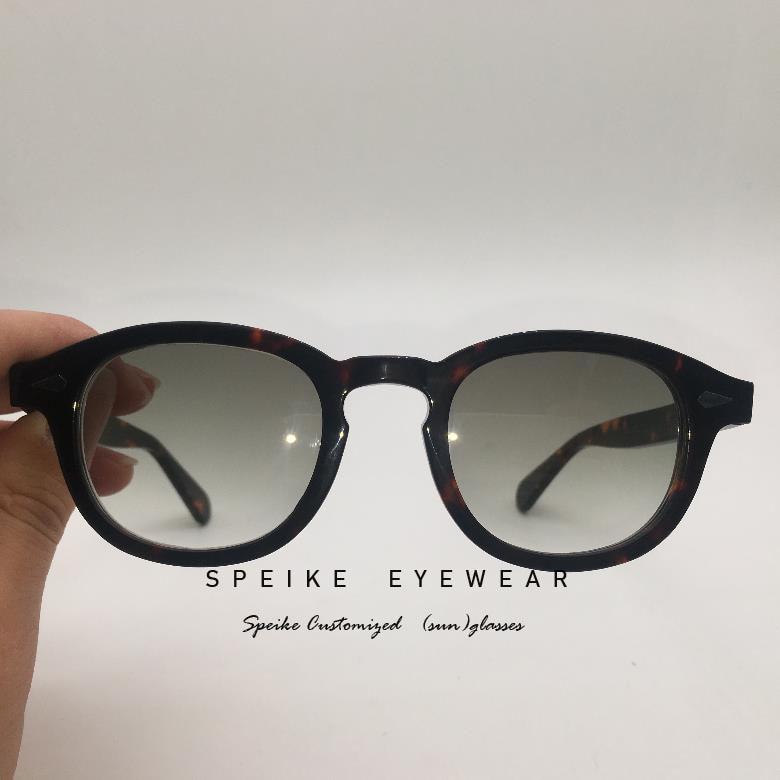 44mm Johnny Depp Tart Arnel Lemtosh Style Glasses tinted lenses