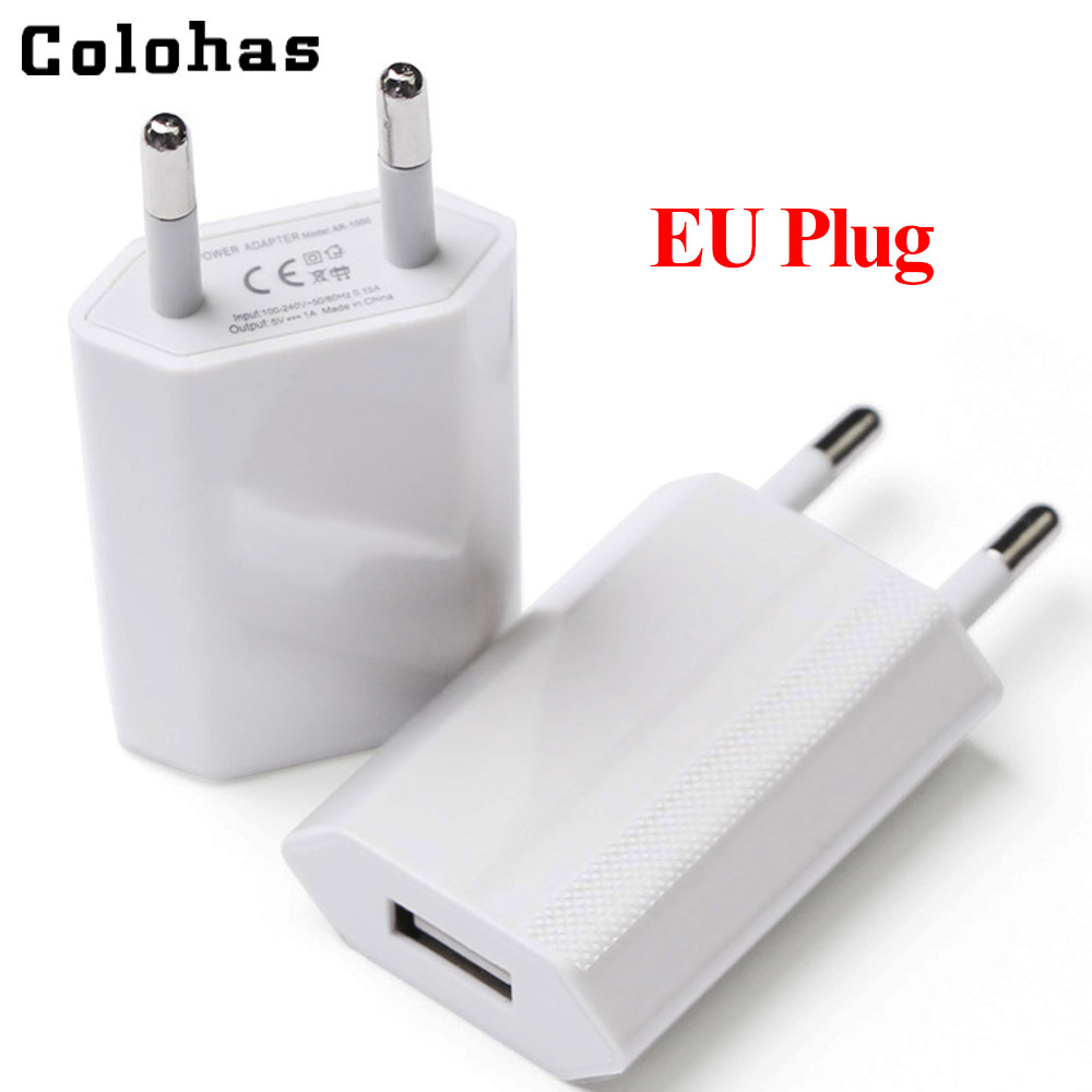 150 Pieces Lot High Quality EU Pug USB AC Travel Wall Charging Charger Power Adapter For