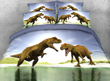 Dinosaur Kids Bedding PromotionShop For Promotional Dinosaur Kids - T rex bed
