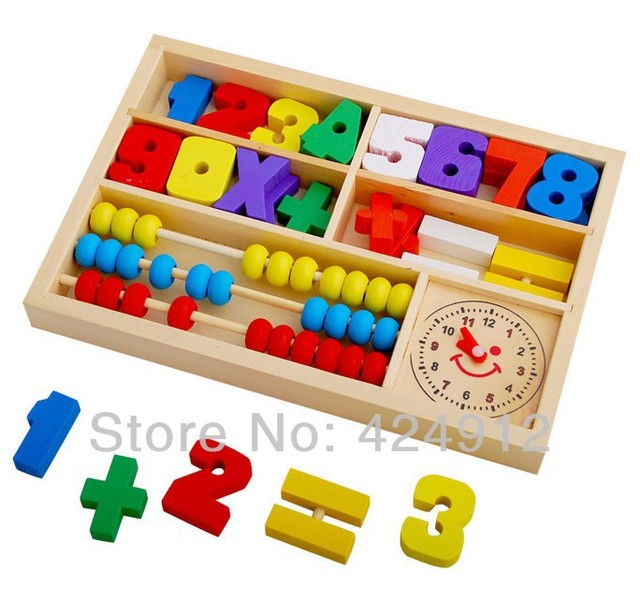 Educational Toys For Toddlers 2 4 : Free shipping wooden toys educational multifunction