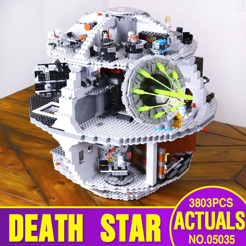 font b LEPIN b font 05035 3804pcs Star Wars Death Star Building Block Bricks Toys