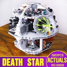 LEPIN 05035 3804pcs Genuine Star Wars Death Star Educational Building Block Bricks Toys Kits Compatible with