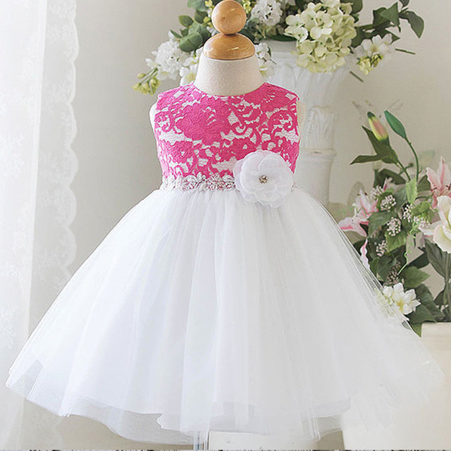 Newborn Baby Dress 0-18m Infant Girls Clothing Sleeveless Dresses For Girls Sundress Infant Party Dress Kids Princess Dresses