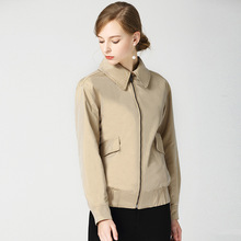 High quality england style jackets women 2018 autumn casual womens coat D342
