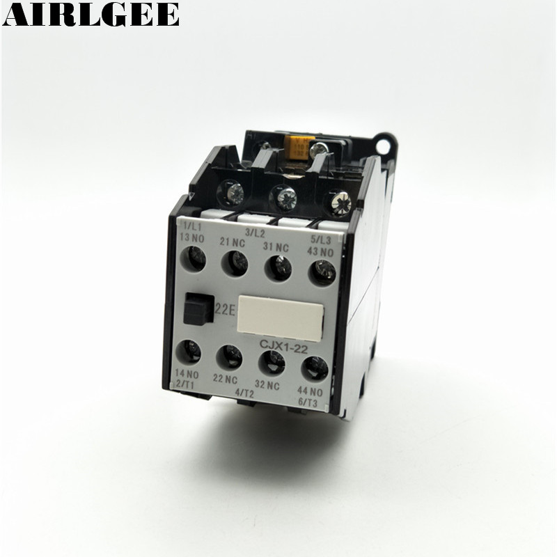 цена на CJX1-22 Motor Controler AC Contactor 380V 22A 50Hz Coil 3P 3 Pole 2NC 2NO