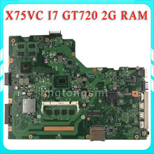 X75VC motherboard X75VB REV3.0 Mainboard Processor i7-3537 Graphic GT720 4G Memory On Board 100% tested