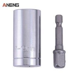 7-19mm Universal Buchse Multi-Funktion Hand Werkzeug Set Reparatur Kit Schlosser Schraubendreher Schlüssel Adapte Multitool Auto hand Werkzeuge