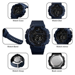 Image 5 - SKMEI Watch Men Digital Sport Men Wristwatches reloj hombre Two Time Chrono Alarm Hour Clock Fashion relogios Man Top Brand 1472