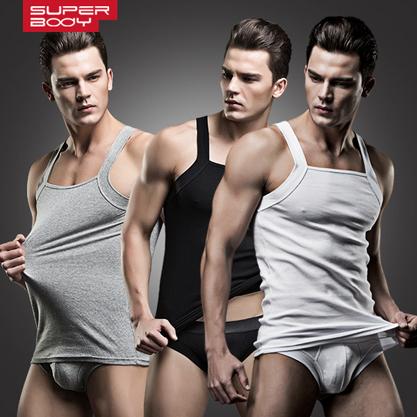 De alta qualidade Da Moda Marca Rib Algodão Gola Quadrada dos homens Musculação Regatas Verão Masculinos Casuais sub-camisa Branca/cinza/Preto