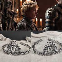 Game of Thrones Cersei Lannister Cosplay Women Crown Headwear Prop