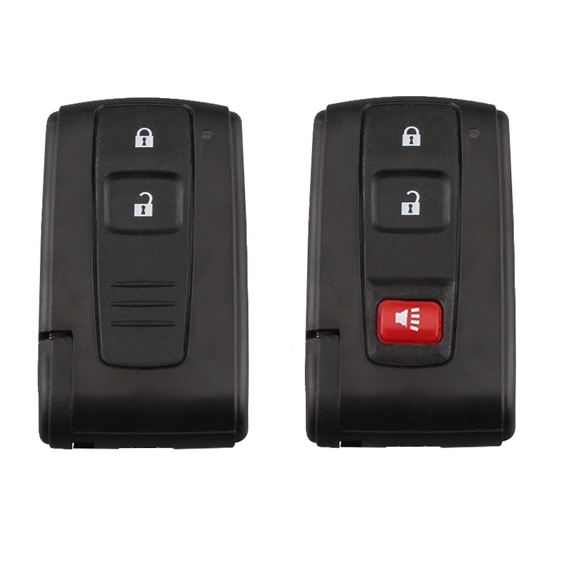 Keyless Entry 3 Buttons Remote Key Shell Case Fob for Toyota Prius 2004-2009