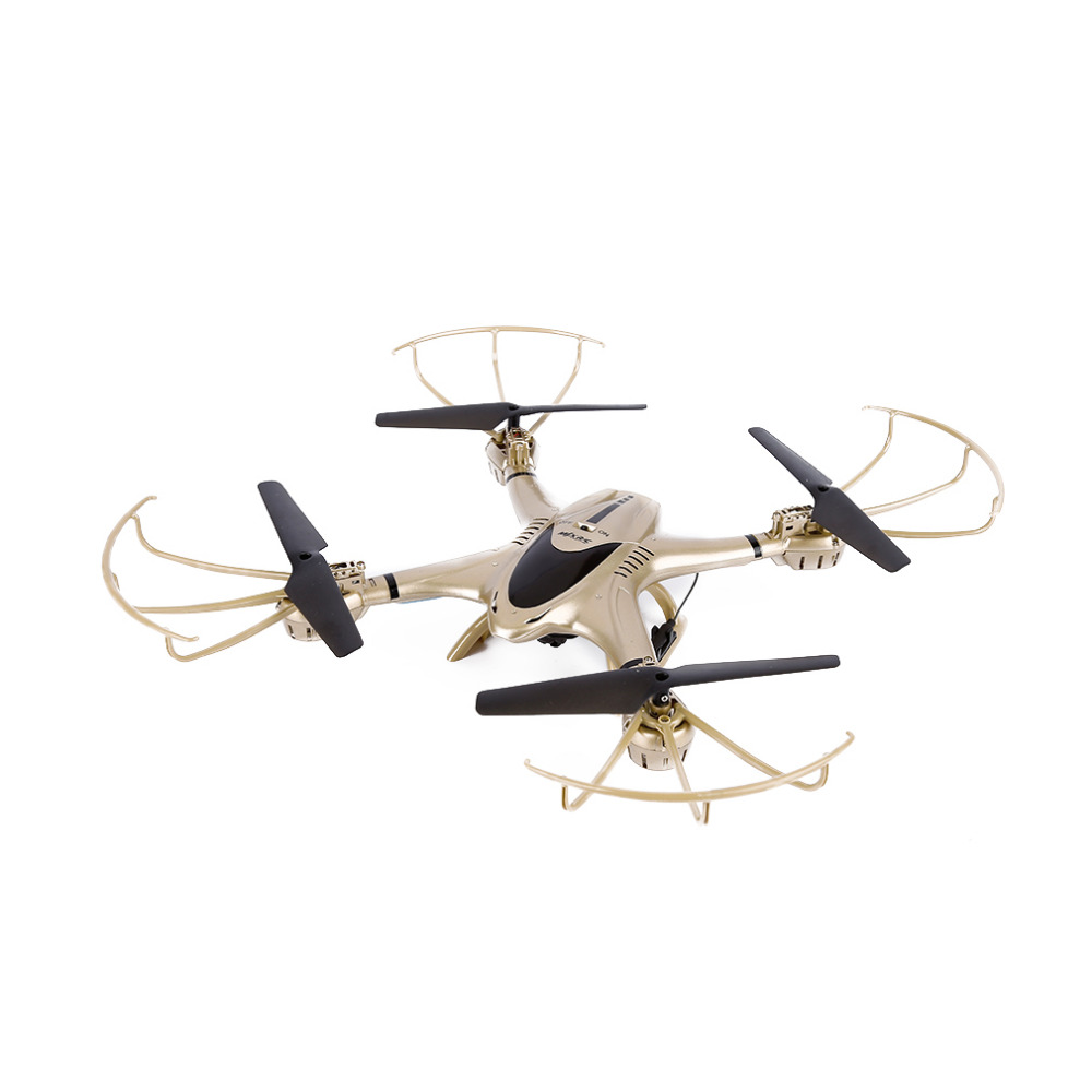 2016 New Golden WIFI FPV 0.3MP HD Camera Drone RC Quadcopter Altitude Hold 3D Flip Helicopter RTF for MJX X401H радиоуправляемый инверторный квадрокоптер mjx x904 rtf 2 4g x904 mjx