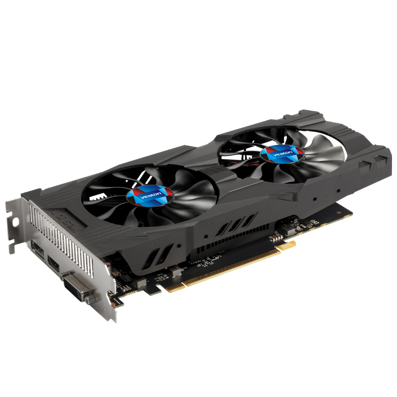 Yeston GAEA NVIDIA GTX1050 2GD5 graphics card GTX1050 2G GDDR5 desktop video card high quality guarantee 2 years warranty