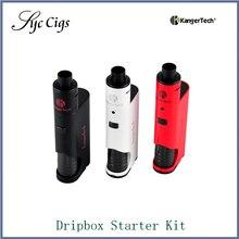 เดิมKanger Dripboxชุดเริ่มต้นที่มีSubdrip 7มิลลิลิตรความจุถัง60วัตต์Dripmod DripboxชุดKangertechบุหรี่อิเล็กทรอนิกส์5ชิ้น
