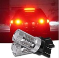 2pcs t20 w21/5w 7443 7440 80W Cree Led Chips car Fog lights Daytime Running Bulb auto Lamp parking car light source Red W21W u40