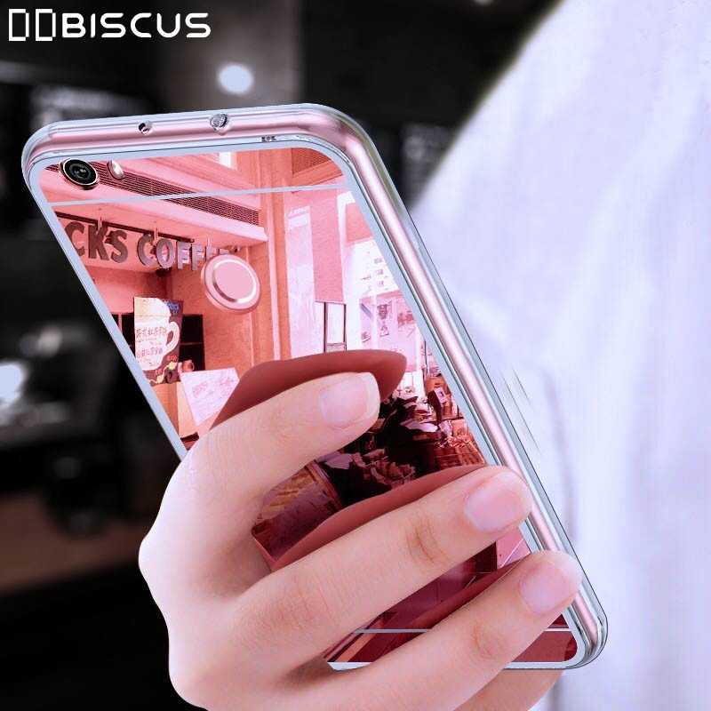 Mirror Silicone Case For Huawei Y9 2019 Y5 Y6 Y7 Prime 2018 P20 P10 P8 Lite 2017 P Smart Plus Z Honor 9 8A 8X 7X 7C 7A Pro Cover