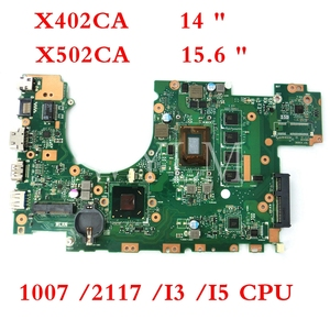 X502CA Motherboard 1007/ 2117 /i3 /i5 CPU 4GB RAM Motherboard For ASUS X502CA X502C F502CA X402C F402CA X402CA Laptop Mainboard(China)