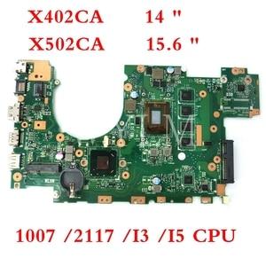 X502CA Motherboard 1007/ 2117 /i3 /i5 CPU 4GB RAM Motherboard For ASUS X502CA X502C F502CA X402C F402CA X402CA Laptop Mainboard(China)