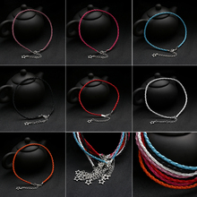Female Bohemian Handmade Leather Star Braided Anklet