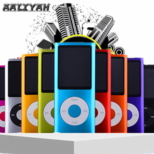 Quality 1.8 inch Mp3 Player Music Playing with FM Radio Video Player E-book Player MP3 with 4GB 8GB 16GB SD TF  Built-in Memory