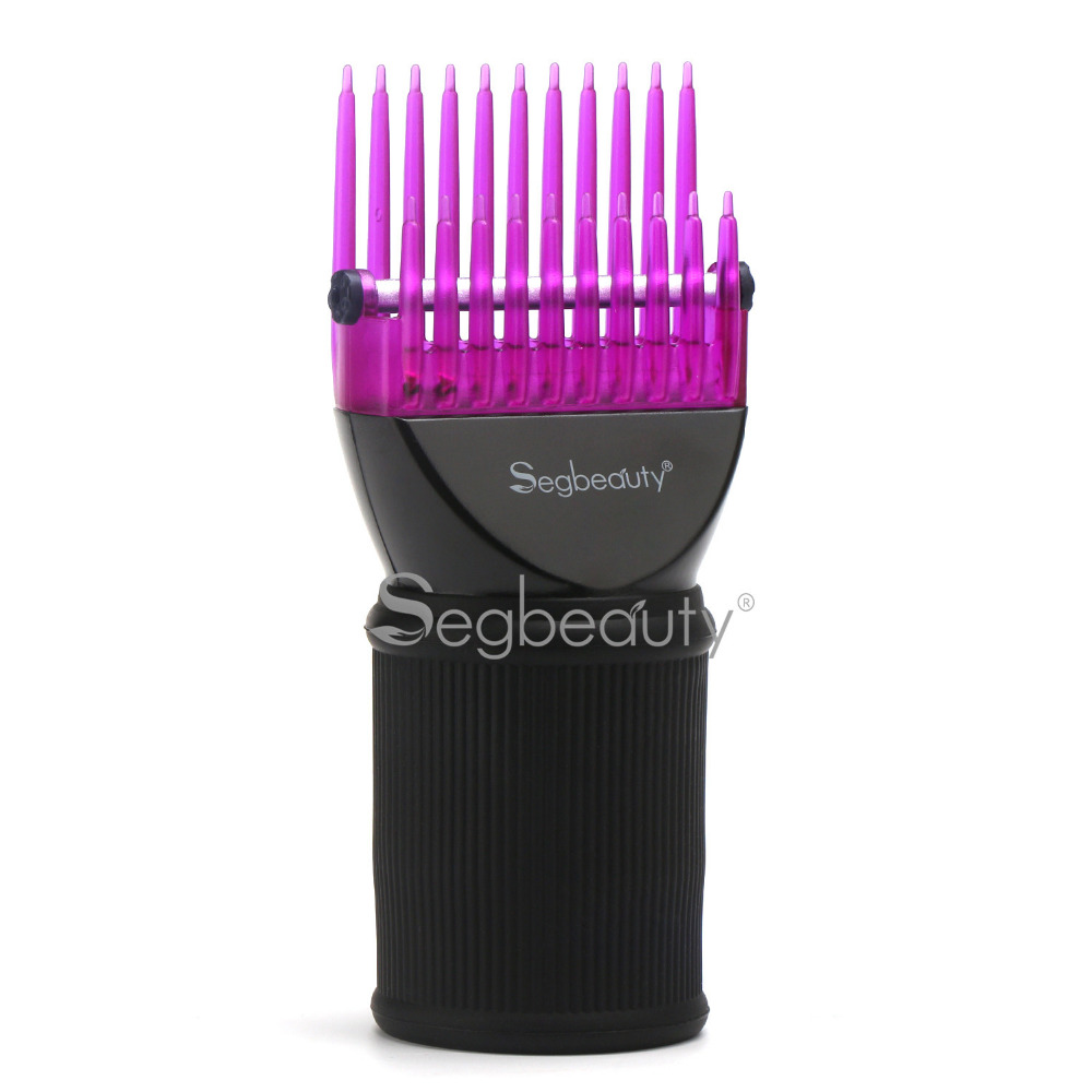 Hair Dryer Comb Attachment Detangling Blow Dryer Hair Styling Dryer Brush Attachment Hairdressing Salon Tool Pic