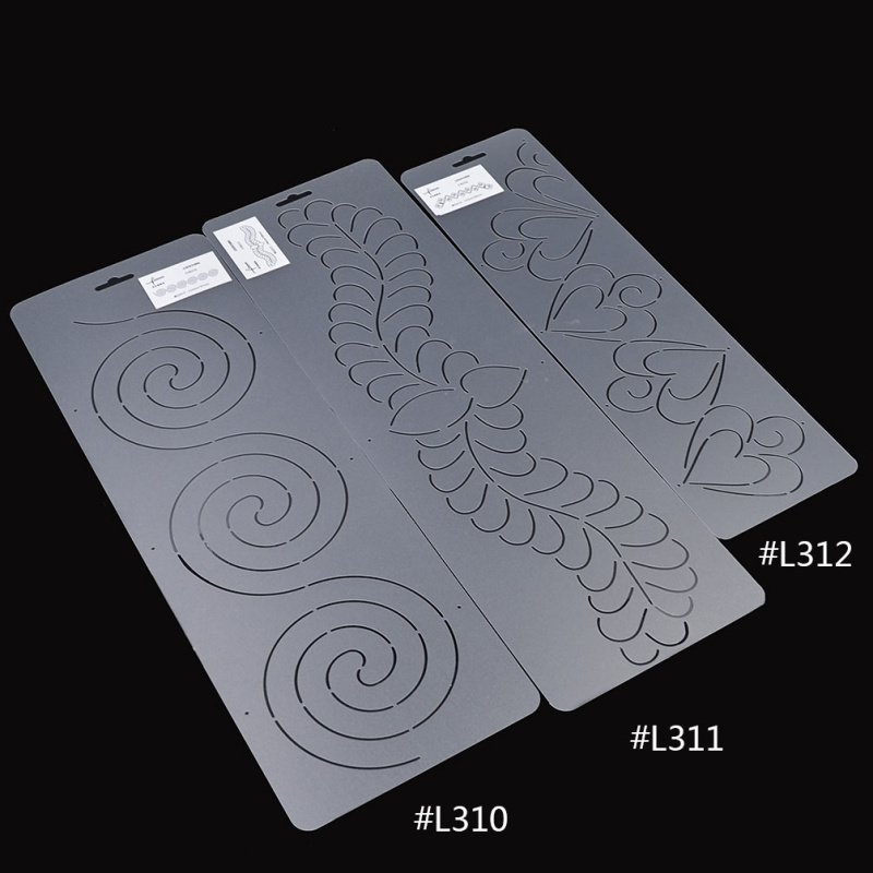 Quilting Plastic Templates | She Love Plastic Quilting Template Quilt Tool For Patchwork Quilter
