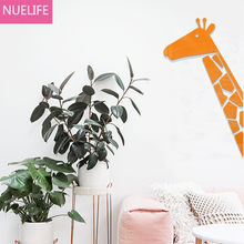 Cartoon giraffe 3D acrylic Wall stickers children's room baby room kindergarten living room bedroom decoration Wall stickers(China)