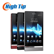Original Unlocked Sony Xperia P LT22i Cell phone Android GPS Wifi 8MP 16GB Internal Free shipping 1 year warranty