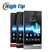 Original Unlocked Sony Xperia P LT22i Cell phone Android GPS Wifi 8MP 16GB Internal Free shipping 1 year warranty