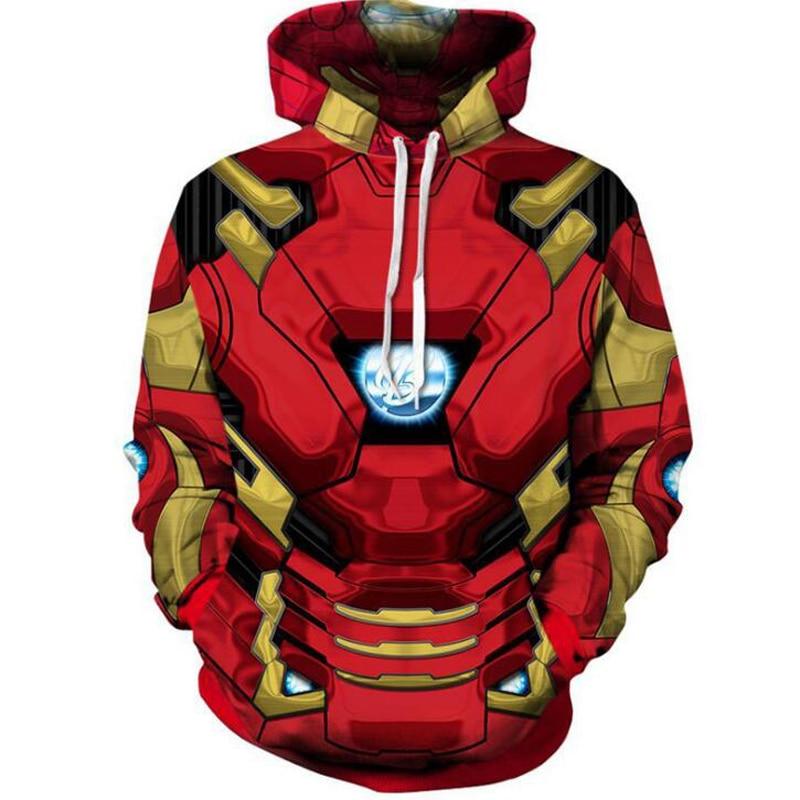 Superhero The Avengers 3 Spiderman Homecoming Iron Man Hoodies Iron Spider man Venom Black Panther Pullover Sweatshirt Outfit