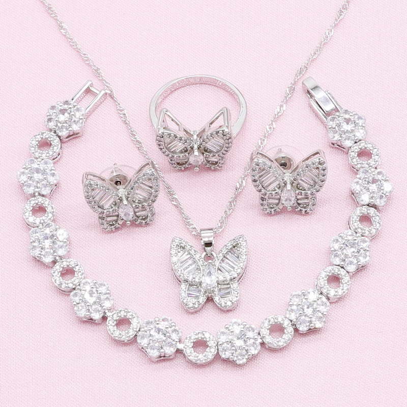 Butterfly Shaped 925 Silver...