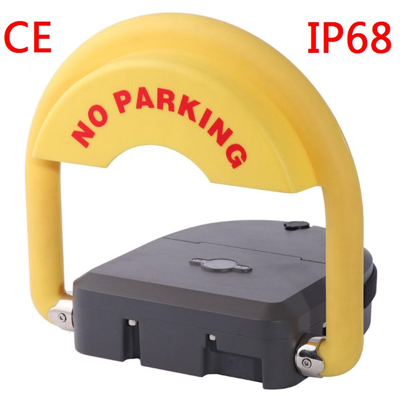 Remote control hotel parking guard parking lot barrier and parking space saver parking lot locks reserved parking lock for cars parking parking space blockers for hotel parking lot no battery