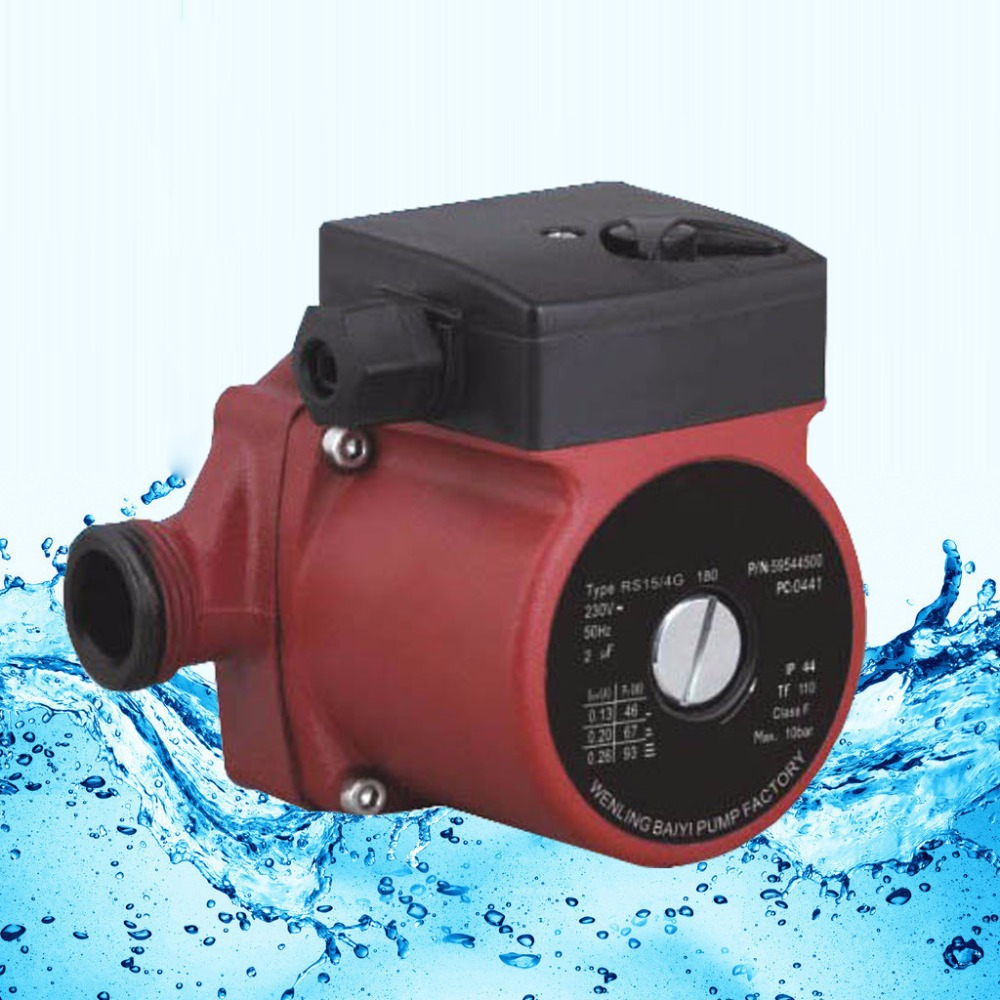 220V Circulator Pump G 1'', 3-Speed Cold and Hot Water Circulation Pump g 1 1 2 hot water circulation pump 220v circulator circulating pump for floor heating system