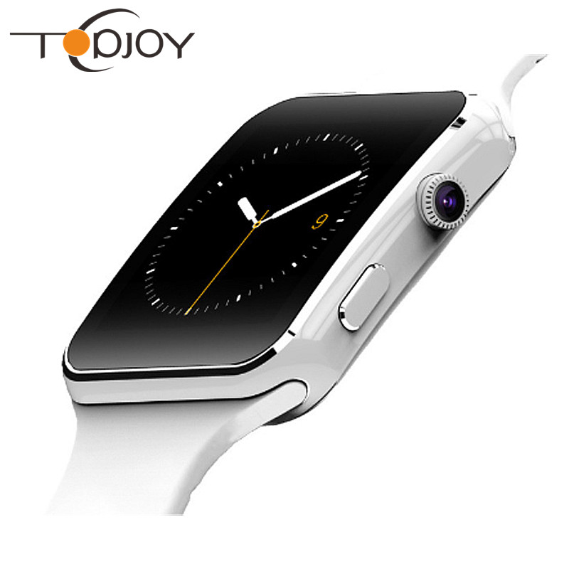 ФОТО Topjoy Bluetooth Smart Watch Smartwatch For IOS Android Phone Support Camera TF SIM Card PK DZ09 GT08 GT88 GD19 D3