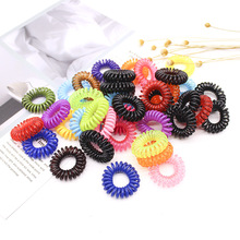 15pcs/lot Candy Colors Hair Ornaments Elastic HairBands Kids Bands For Girls Women Headband Styling Accessories
