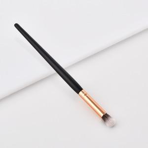 Image 5 - Profesyonel 10 tipi yumuşak makyaj fırçaları Kabuki fırça karıştırma tozu fondoten allık makyaj fırça göz farı kozmetik aracı