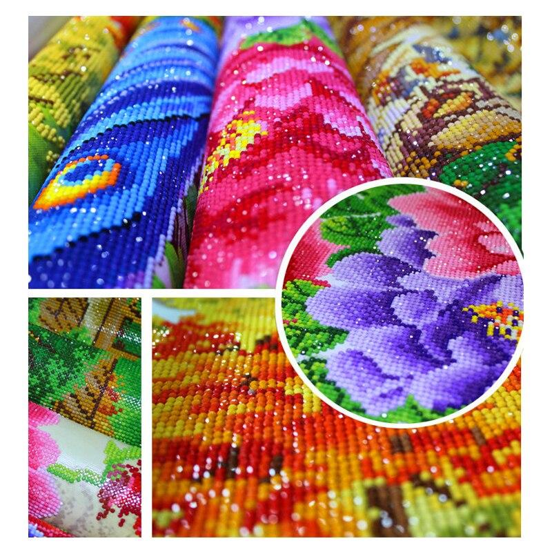 Nuevo 5D Diy Diamond pintura mosaico bordado de costura con diamantes - Artes, artesanía y costura - foto 2