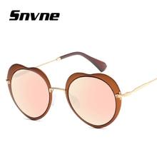 Snvne amor gafas de sol de marco gafas de Sol de metal Retro para hombres mujeres diseño de Marca oculos gafas de sol feminino masculino KK560