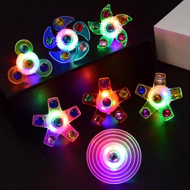 Спиннер-Спиннер светящееся кольцо стресс анти-стресс игрушки сувениры для гостей праздника