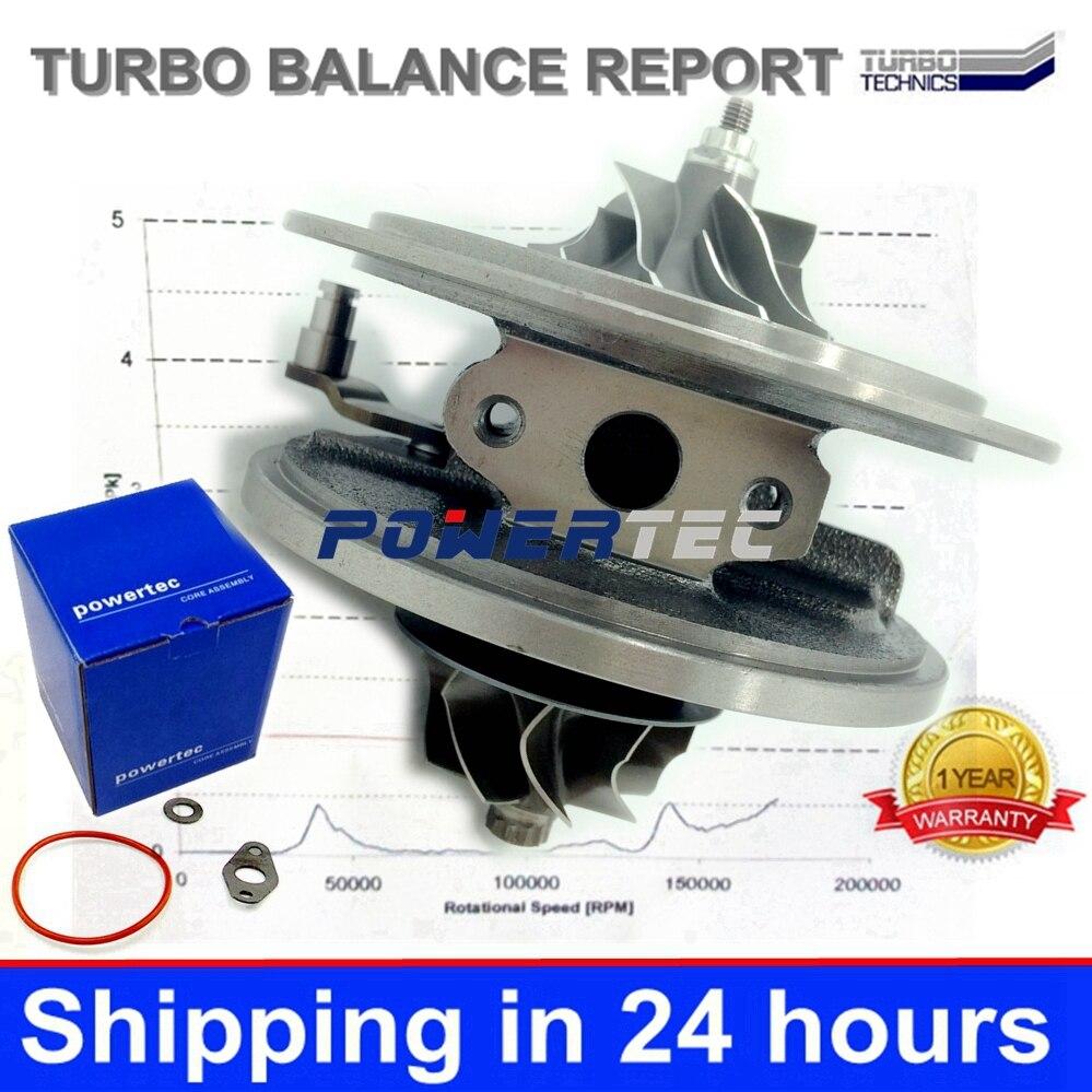 GTA2052V CHRA 752610 LR010138 6C1Q6K682EF 6C1Q6K682EH turbocharger core cartridge for Land-Rover Defender 2.4 TDCi 143 HP Puma