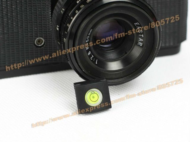 Free shipping Hot Shoe Bubble Spirit Level Cap Cover for Nikon and Canon 107028