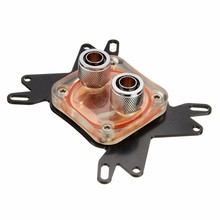 Waterblock System CPU Water Cooling Block Cooler 50mm Copper Base Cool 10mm Dia Inner Channel