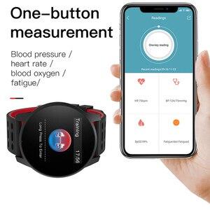 Image 4 - Montre numérique homme, Sport, à la mode, montre intelligente hommes femmes, podomètre, avec moniteur de fréquence cardiaque, montre intelligente pour Android et ios, 2019