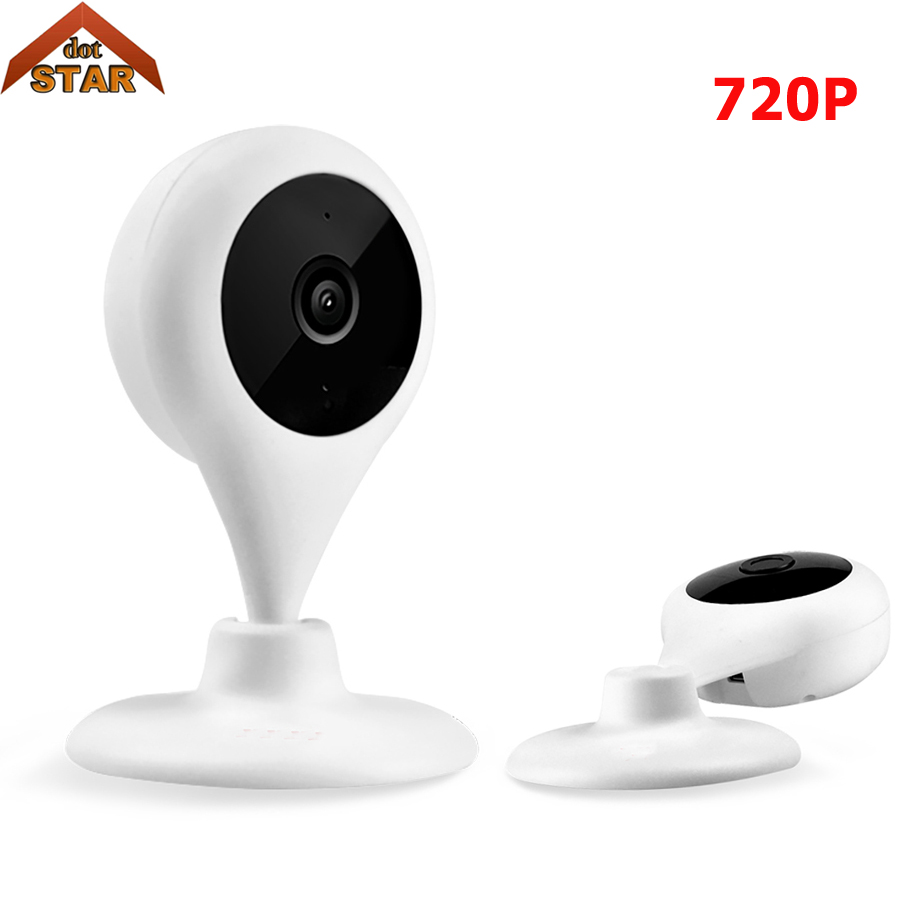 Stardot Home Wifi IP Camera HD 720P Mini IP Camera Indoor Smart P2P Baby Monitor Two Way Audio Wireless Security CCTV Camera