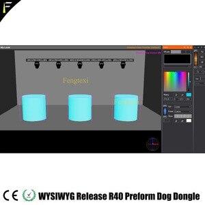 Image 5 - WYSIWYG R40 Dongle אנגלית שחרור 40 R40 כלב Preform מוצפן כלב תאורת תיאטרון מקום ביצועים עיצוב תוכנה