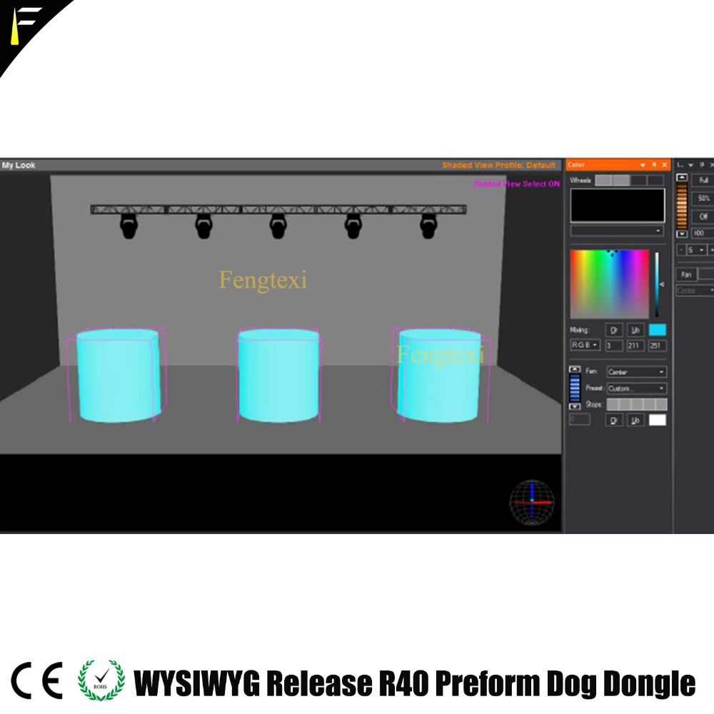 Image 5 - WYSIWYG R40 Dongle English Release 40 R40 Dog Preform Encrypted Dog Lighting Stage Theater Performance Venue Design Software-in Stage Lighting Effect from Lights & Lighting