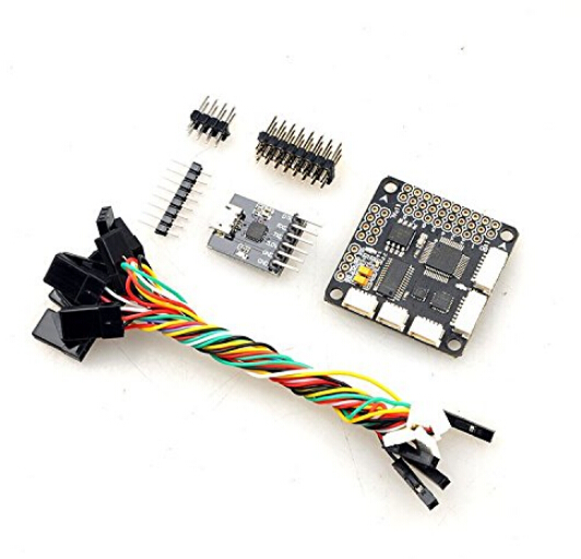 Deluxe Barometer/MAG PRO SP Racing F3 Flight Controller Integrate OSD with Protective Case for DIY FPV Multicopter F17801 micro minimosd minim osd mini osd w kv team mod for racing f3 naze32 flight controller