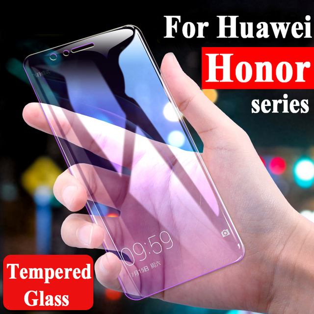 For Huawei Honor 7X Glass On Honor 10 Screen Protector 8C 8X 9 8 Lite Protective Honer C8 X8 X7 7 C X Light Tempered Glas Case