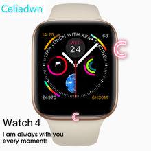 27c81b9830a 2019 Relógio Inteligente 1 1 44mm Série IWO 8 4 Bluetooth SmartWatch Para  Android iPhone